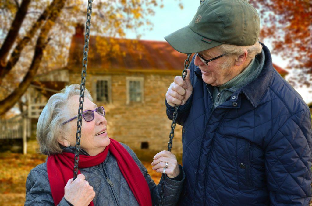 Rentner und Hausbau
