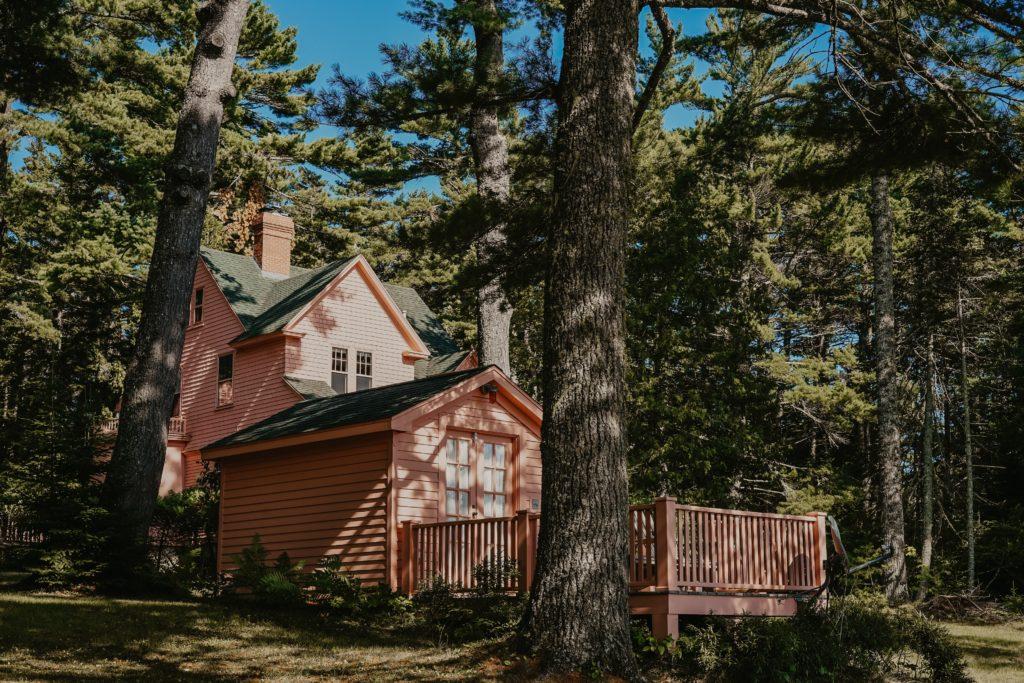 Ein Haus im Wald